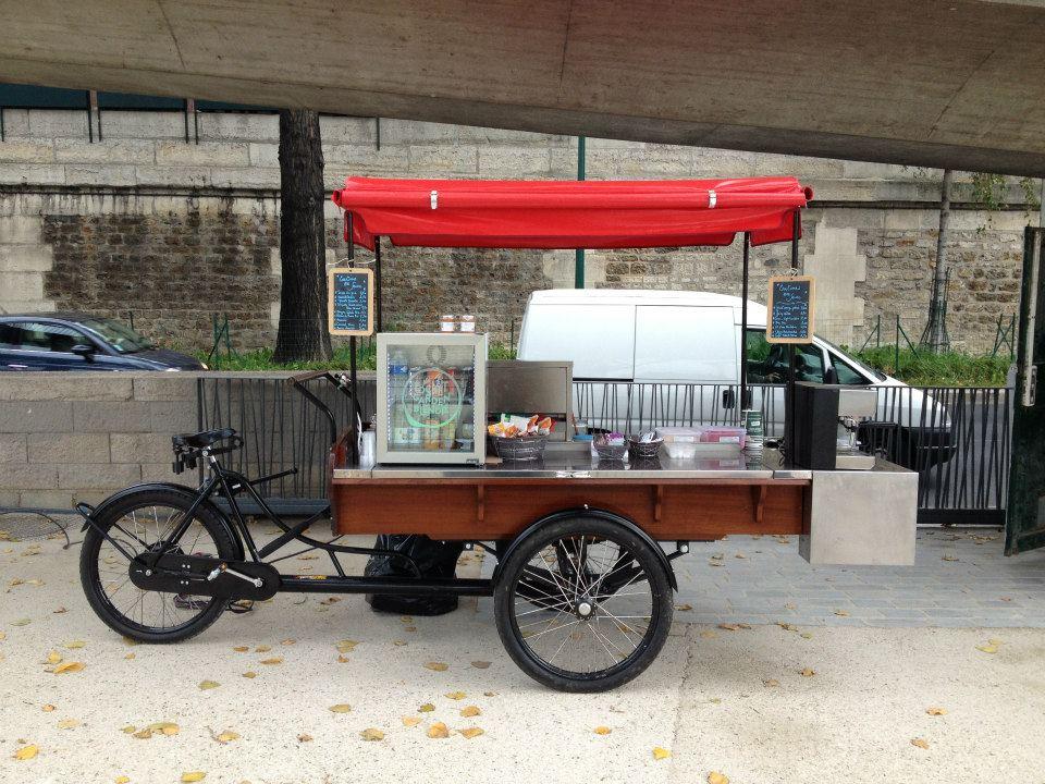 triporteur food truck dm service. Black Bedroom Furniture Sets. Home Design Ideas